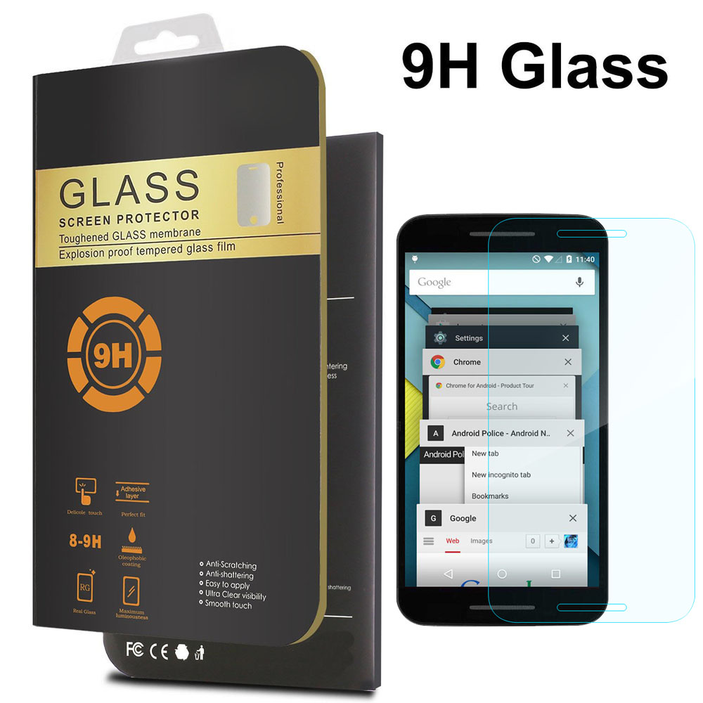 For Google Nexus 5X Screen Protector 0.26mm Front Premium Tempered Glass For LG Nexus 5X Nexus 5 2015 Ultra-thin Protective Film