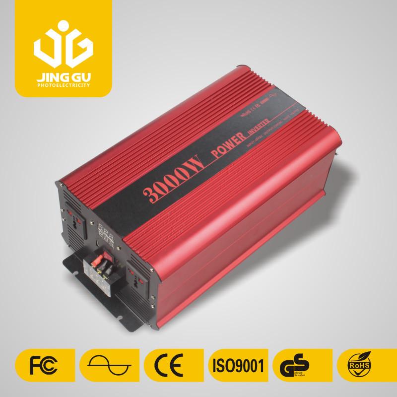 China 12v/24v pure sine wave power inverter 3000w(China (Mainland))