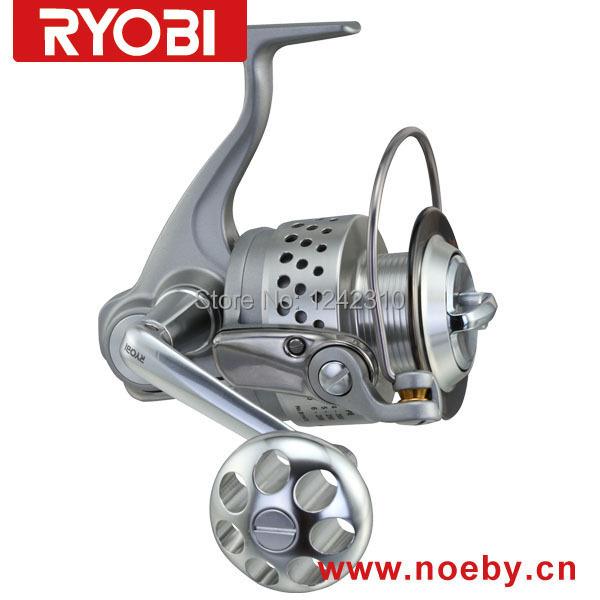 Ryobi classic fishing reel jigging reel for big sea fish for Ryobi fishing reel