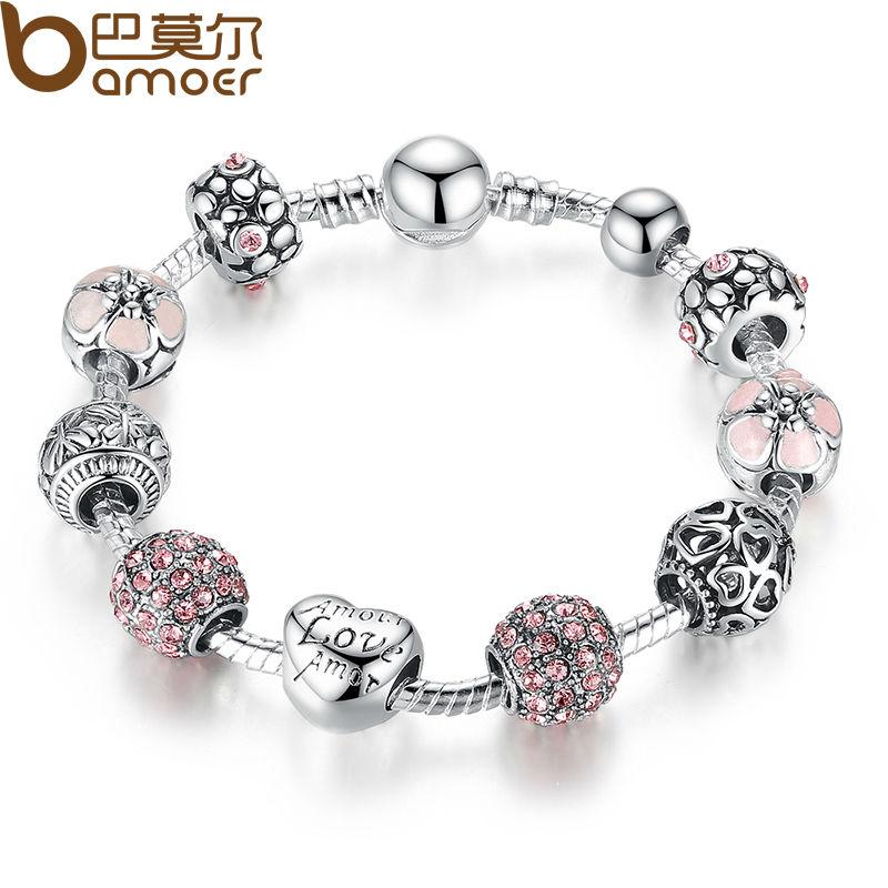 Pandora Flower Bracelet
