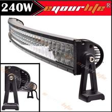 Eyourlife 240W led light bar 42Inch curved Spot &Flood Work Light Bar truck boat 140W 144W 180W - dedcllc store