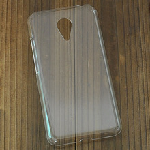 Crystal Clear Transparent Back Protector Hard Case Skin Cover For Meizu MX5 Diy Rhinestone Pasted Phone Case