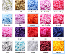 Dressv 1500 Pcs Wedding petals Silk Rose Petal Rose Flower Color Wedding Accessories 16 Color Available petals Wedding petals(China (Mainland))