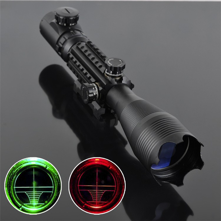 C 4-16X50 EG LLL Night Vision Scopes Air Rifle Gun Riflescope Outdoor Hunting Telescope Sight High Reflex Scope Gun-sight Optics<br><br>Aliexpress