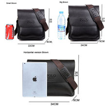 Casual Business Leather Mens Messenger Bag Hot Sell Famous Brand Design Leather Men Bag Vintage Fashion