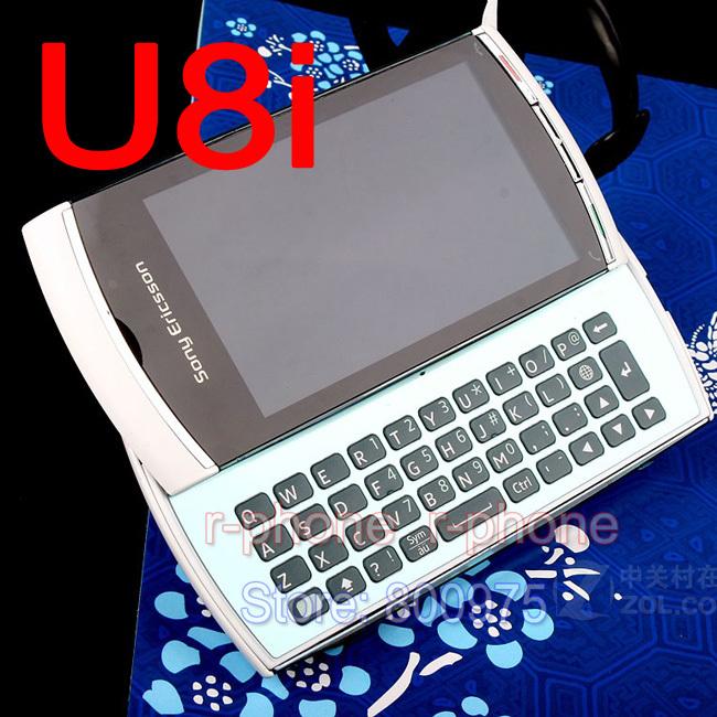 Original Refurbished Sony Ericsson Vivaz Pro Phone U8 U8i Mobile Phone Unlocked GSM WCDMA Symbian S60 Smartphone(China (Mainland))