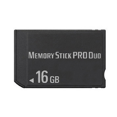 16gb ms memory stick pro duo card storage for sony psp. Black Bedroom Furniture Sets. Home Design Ideas