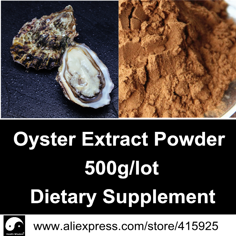 Natural Oyster Extract Powder 500g Sexual Health Dietary Supplements Ostrea Gigas Thunberg<br><br>Aliexpress