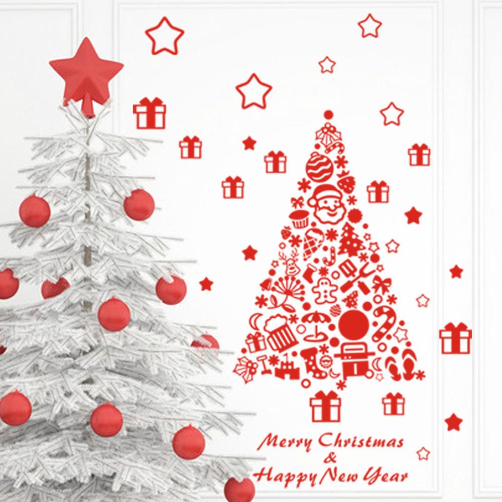 Wall Xmas Decorations Wall Stickers Christmas
