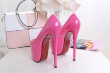 Pink PU pump EXTREME