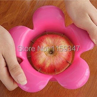 1 PC Stainless steel Corer Slicer Easy Cutter Peeler Cut Fruit Knife Apple Pear Red kitchen tool cooking tools - Top Angel Trade co., ltd store