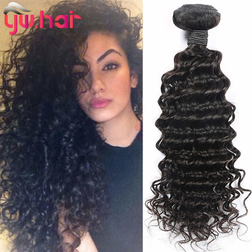 Peruvian 3 Bundles Deep Wave With 4*4 Lace Closure 100g/Pcs Best Quality Unprocessed Virgin Hair Weaves With Closure On Sale<br><br>Aliexpress