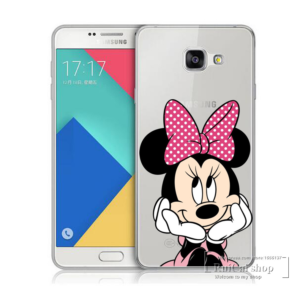 Watercolor Case Samsung Galaxy S6 S7 Edge Kissing Mickey Minnie ...