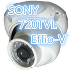 720TVL,Real WDR, OSD,3D NR, UTC Effio-V 960H, 1/3 inch SONY CCD, vandal-proof,dome camera - SecurityMax store