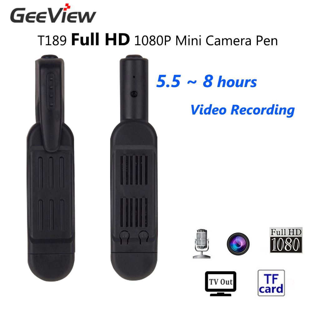 T189 Mini Camera Full HD 1080P Mini Spy Pen Camera 8MP Micro Camera Video Voice Recorder Mini Camcorder Camara Digital DVR Cam(China (Mainland))