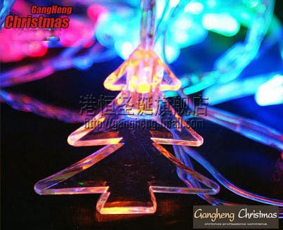 Free shipping   880cm*5cm,100PCS lamps  led Christmas light  / colorful  festival light  ,crystal PMMA Christmas tree lights<br><br>Aliexpress