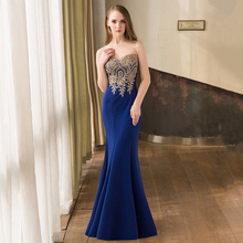 2016 In Stock Mermaid Evening Dresses Long Formal Evening Gowns Mesh Covered Top robe de soiree longue Real Sample 11 Colors(China (Mainland))
