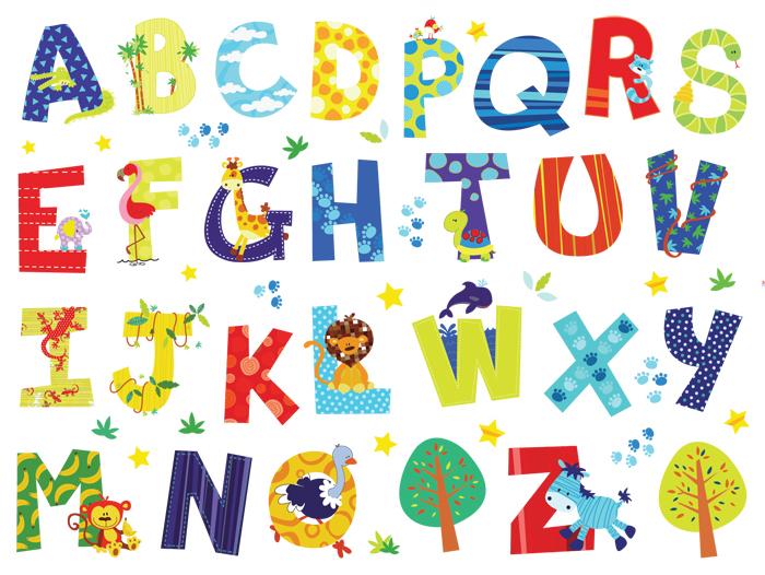 Popular alphabet letter stickers buy cheap alphabet letter for Living room 6 letters