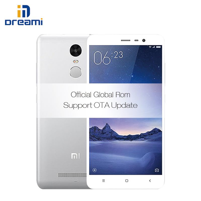"Original Xiaomi Redmi Note 3 Pro Snapdragon 650 4050mAh 16ML 1080P 5.5"" Screen Hexa-Core Dual-Sim Card Slot Smart Phone(Hong Kong)"