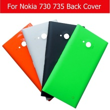 Buy 100% Genuine new Back cover Nokia 730 735 battery housing door Lumia Nokia 735 730 rear cover case + 1pcs film free for $1.89 in AliExpress store