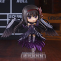 Anime Nendoroid Puella Magi Madoka Magica Akemi Devil Homura Action PVC Figure Doll Toy Girl Birthday