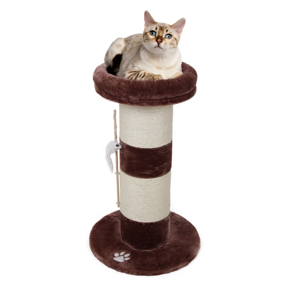 Domestic Delivery Cat Scratcher Tree Wood Climbing