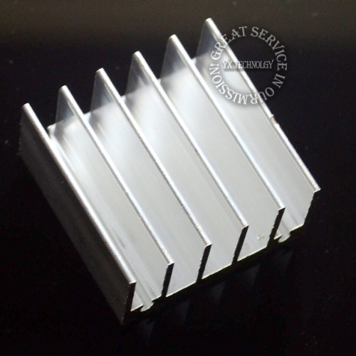10pcs/bag Aluminum fin heat sink 30 * 30 * 15MM White sawing(China (Mainland))