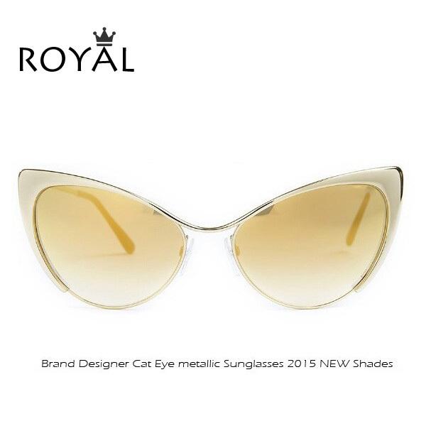 High Quality Metal Super Cute Cat Eye Sunglasses Women Brand Designer Vintage Retro Glasses Fashion Girls sun shades ss042(China (Mainland))