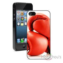 Red Boxing Gloves Protector back skins mobile cellphone cases for iphone 4/4s 5/5s 5c SE 6/6s plus ipod touch 4/5/6