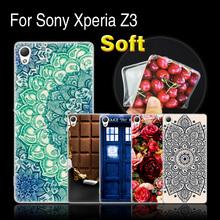 "Buy Sony Xperia Z3 5.2"" Case, Soft Silicone Case Cover Sony Z3 Z 3 / L50T D6635 / D6603 D6643 D6633 L55T D 6603 Phone Case for $1.21 in AliExpress store"