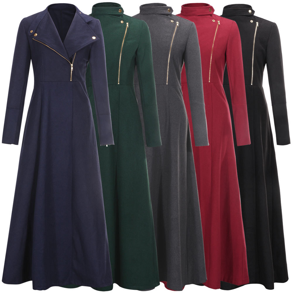 Wholesale Floor Length Coat Womens Winter Jackets And Coats Extra