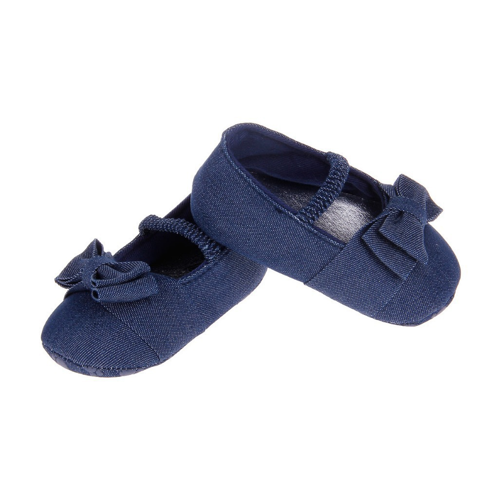 New Brand Baby First Walker Shoes Dark Blue Months