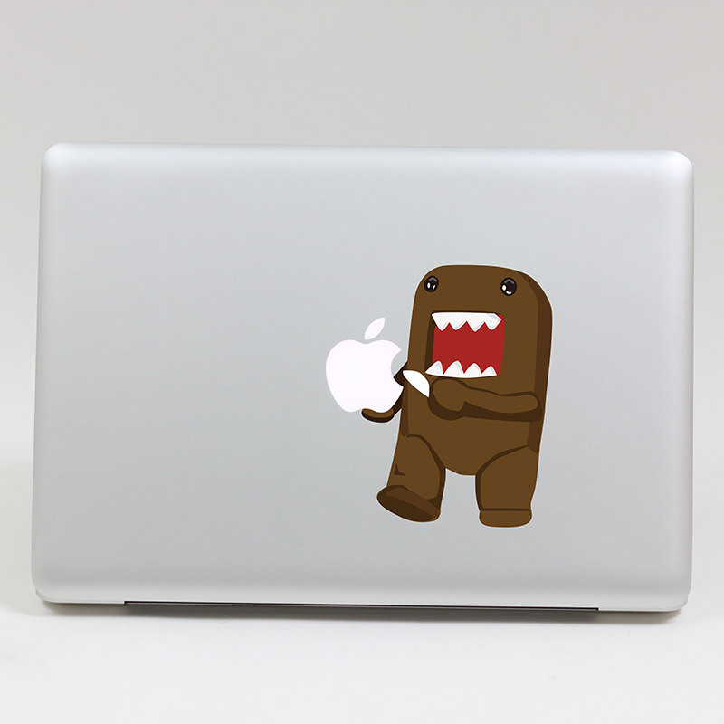 Removable Avery DIY waterproof color DOMO eating tablet laptop sticker computer and for laptop,135*205mm(China (Mainland))