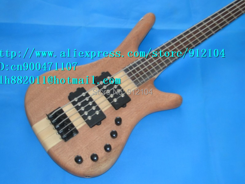free shipping wholesale and retail new 5-strings electric bass guitar F-1469+foam box(China (Mainland))