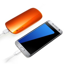 for iPhone 6s 4.7-inch Power Bank VORSON Shell II Li-polymer 6000mAh Power Bank Charger for iPhone Samsung – Orange
