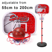 Adjustable Basketball Stand Basket Holder Hoop Goal Outdoor Fun & Sports Activity Game Mini Indoor Child Kids Boys Toys Sport(China (Mainland))