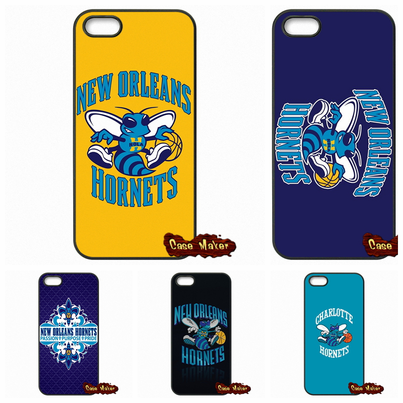 New Orleans Hornets NOK Logo Case Cover For Samsung Galaxy S3 S4 S5 MINI S6 S7 Edge Note 3 4 5 iPhone 4 4S 5S 5 5C 6 6S Plus(China (Mainland))