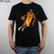 Kobe Bryant T-shirt Top Pure Cotton Men T shirt New Design High Quality(China (Mainland))