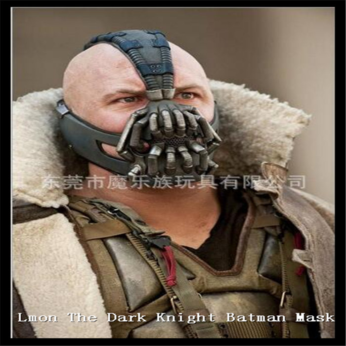 Party Cosplay Movies Batman Bane latex Mask The Dark Knight Movie Mask Halloween Costume Cosplayer Mask Iron man mask in stock(China (Mainland))