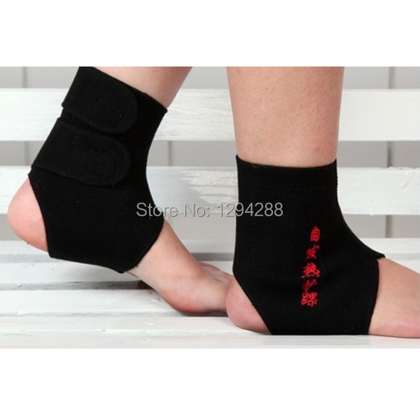 2Pairs Tourmaline Magnetic Therapy Ankle Brace Support Protection Self heating Belt Foot Health Care Xt6aSG