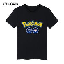 Buy Game Pokemon Go Charmander Short Sleeve T Shirt Hip Hop Summer T-Shirt Anime Pokemongo Top Tees Men Women Unisex XXXXL Teeshirt for $8.99 in AliExpress store
