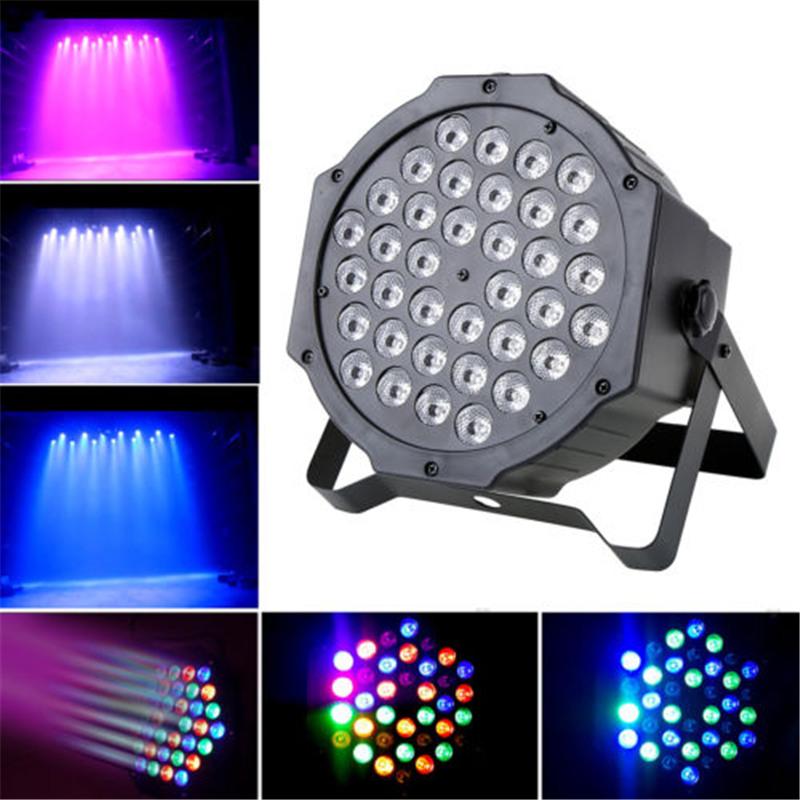 Par Can 36 RGB LED Stage Light Disco DJ Bar Effect UP Lighting Show DMX Strobe(China (Mainland))