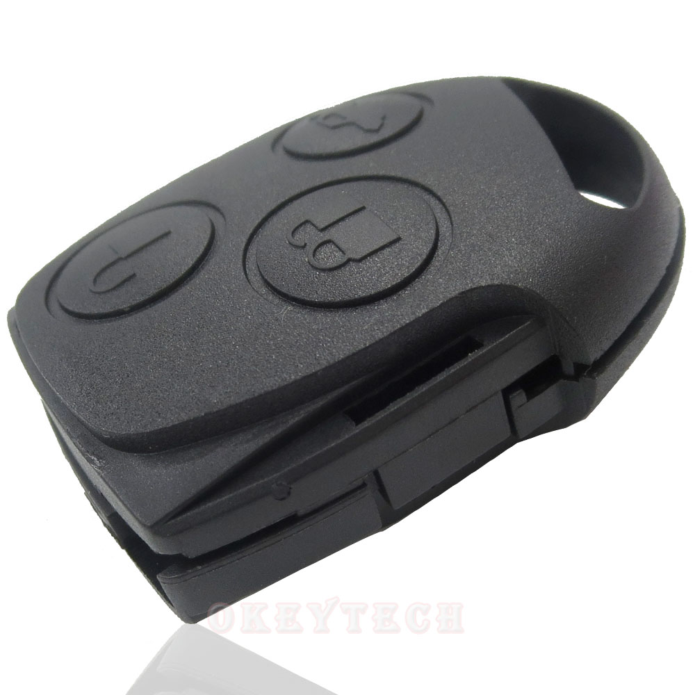 Car Key Alarm For Car Ford foucs mendeo 3 Button Remote Control 433 MHZ Without Head blade car key Backseat shell for ford(China (Mainland))