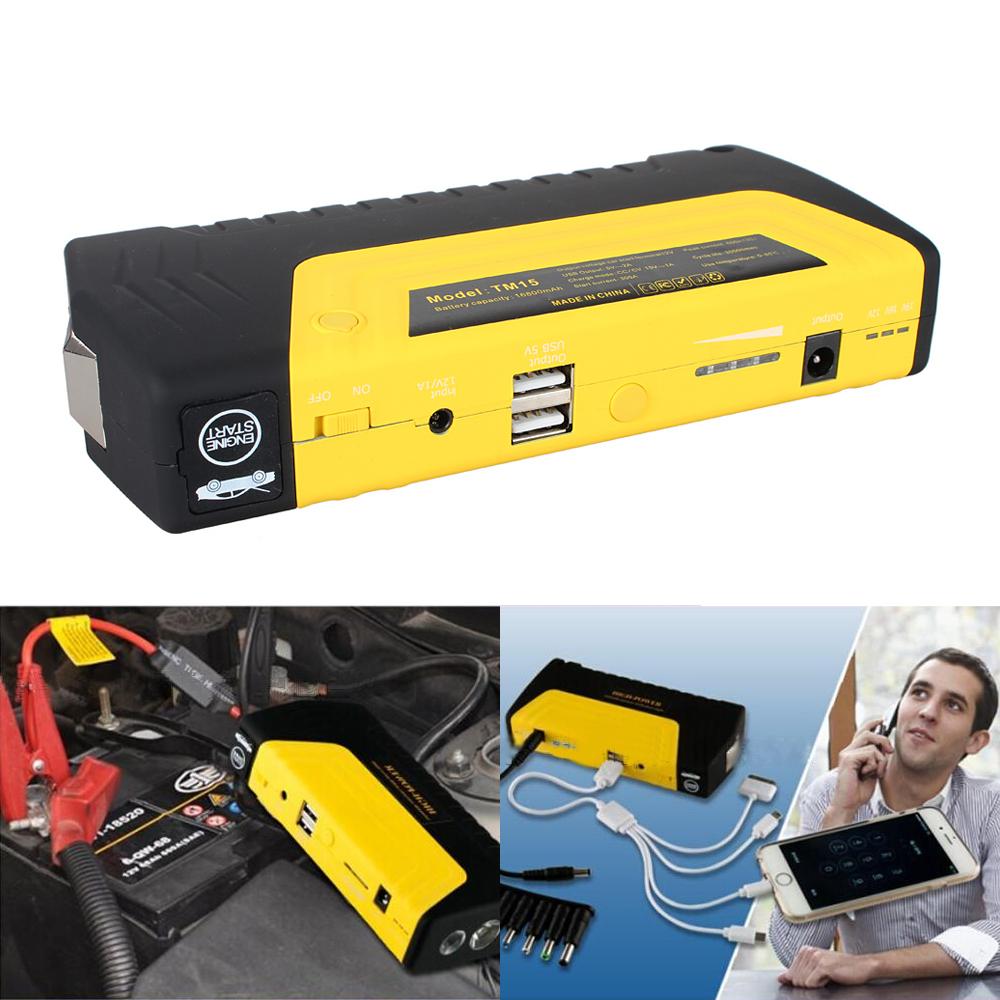 16800mAh Emergency Mini Car Vehicle Jump Starter Power Bank LED Battery Charger Air Pump - Kacar Electronic Trade Co.,Ltd. store