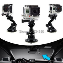 3in1 1Set 100pcs Car Suction Cup Mount /100pcs Tripod mount adapter /100pcs screw for GoPro Hero
