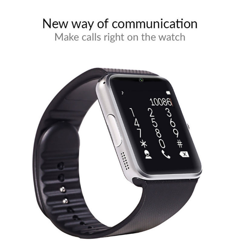 Bluetooth Smart Watch GT08 Clock Sync Notifier Support Sim Card Connectivity Apple iphone Android Phone Smartwatch Watch pk u8