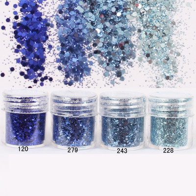 1 Box Nail Glitter Dark Blue Sparkles Glitter Powder Super Matte Powder Nail Art Decoration Nail Art Glitter Paillette 8234099(China (Mainland))