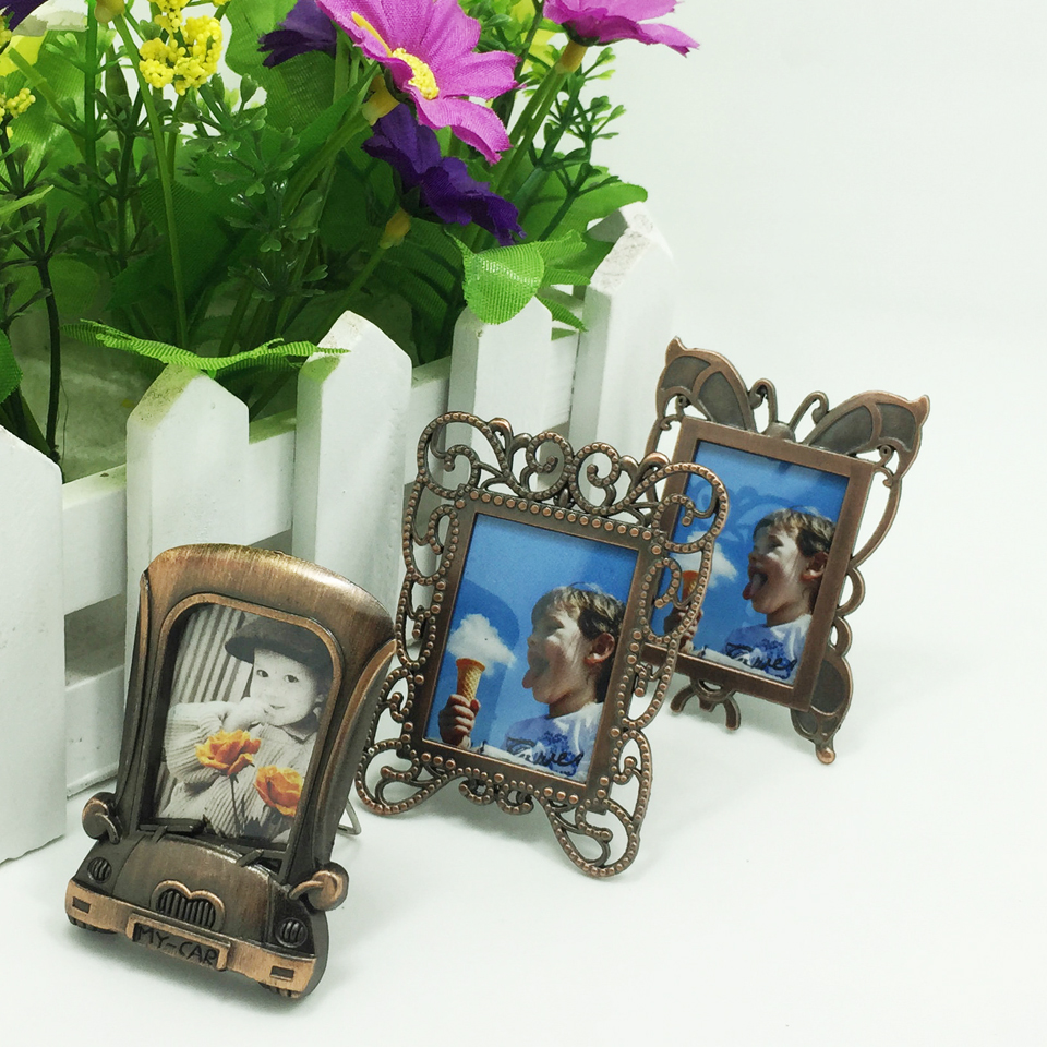 TreasureHunt mini photo frame, copper metal picture frame (multiple styles) best gifts children, wedding guests - China Home Decoration Co. Ltd. store