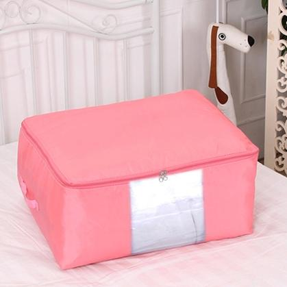 Oxford fabric cotton quilt Large clothing storage bag sorting bags large storage bags soft clothes box storage box(China (Mainland))
