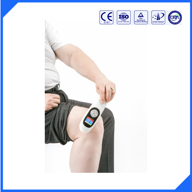 Laser physical therapy equipment for body pain point and pain management device(China (Mainland))